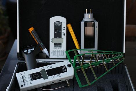 outils du géobiologue