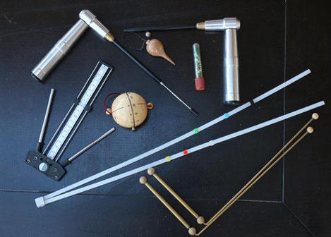 outils de détection sensible géobiologie